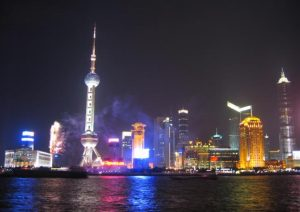 Shanghai, People's Republic of China Waterfront