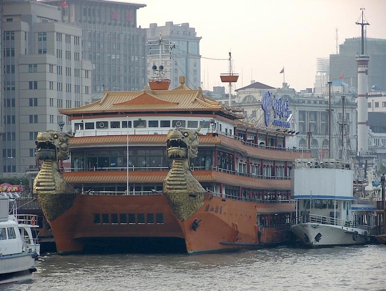 Boat in Shanghai, PROC