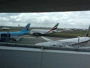 Airplanes in Sydney, Australia
