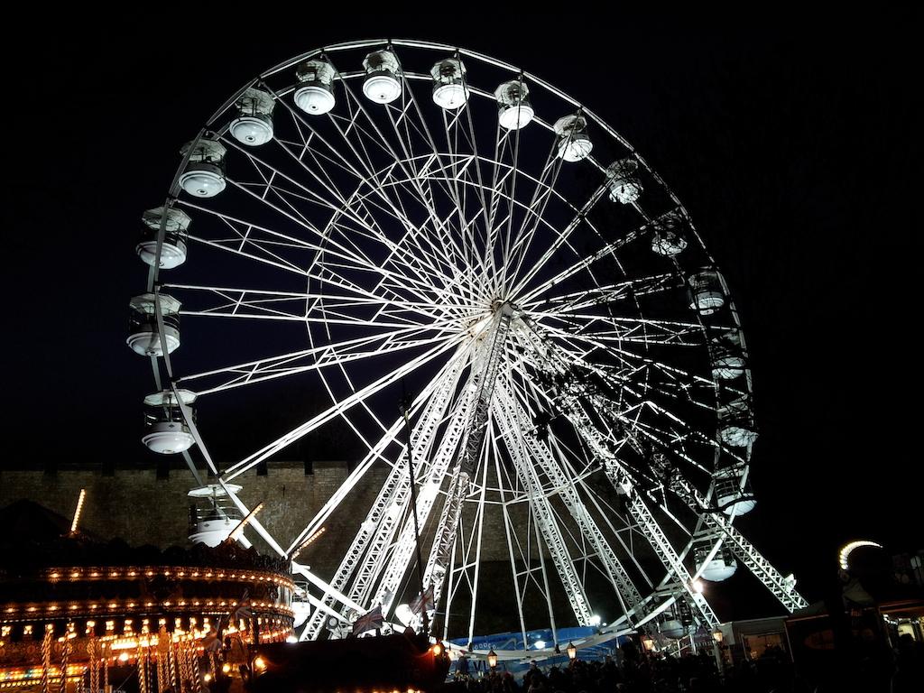 Lincoln Christmas Market Ferris Wheel