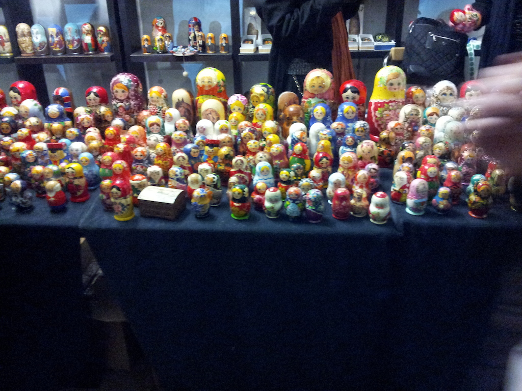 Lincoln Christmas Market Russian Dolls