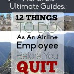 MUG 12 Things To Do As An Airline Employee Before You Quit
