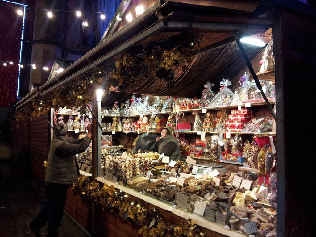 Manchester Christmas Market-Albert Square-Another Stall