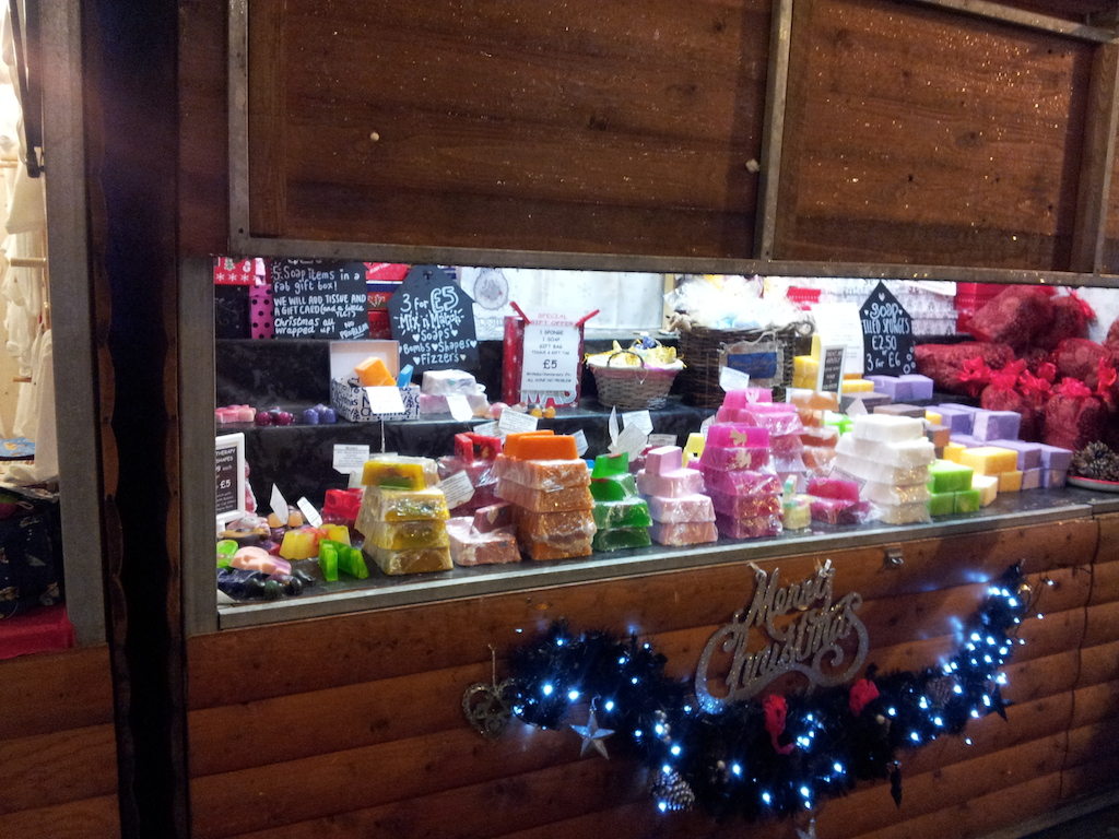 Manchester Christmas Market Albert Square-Fudge