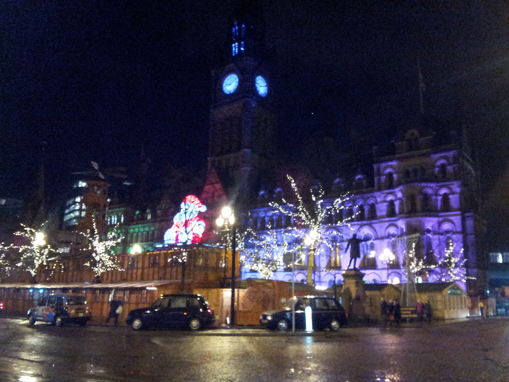 Manchester Christmas Market-Albert Square-The End