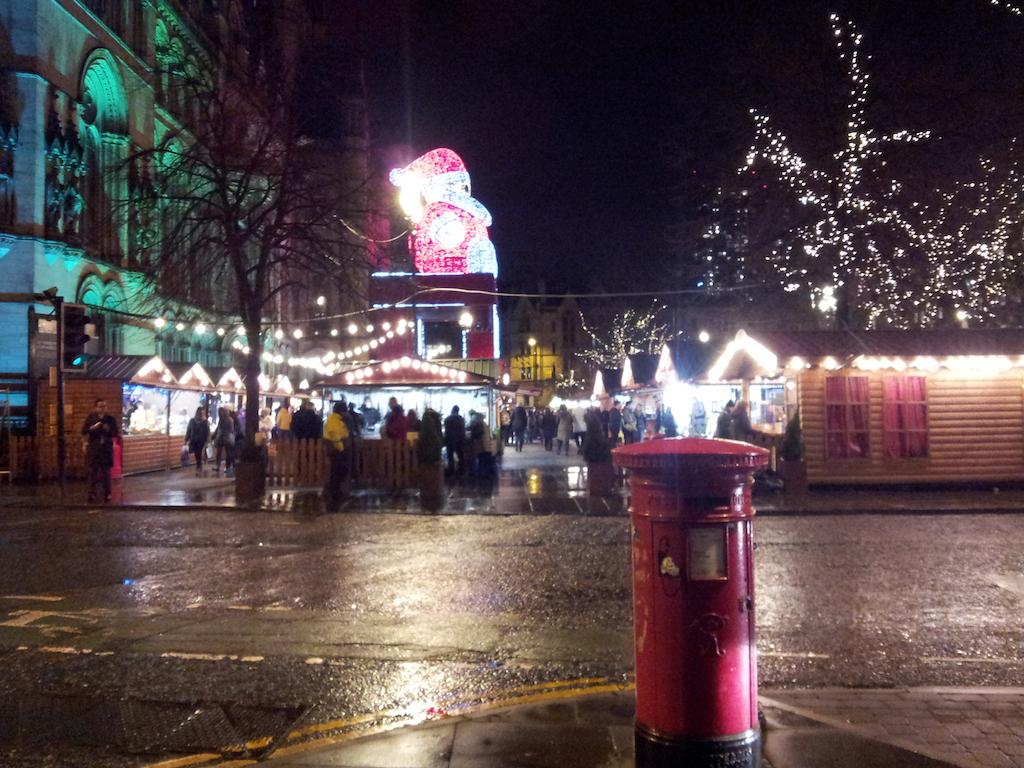 Manchester Christmas Market-Albert Square
