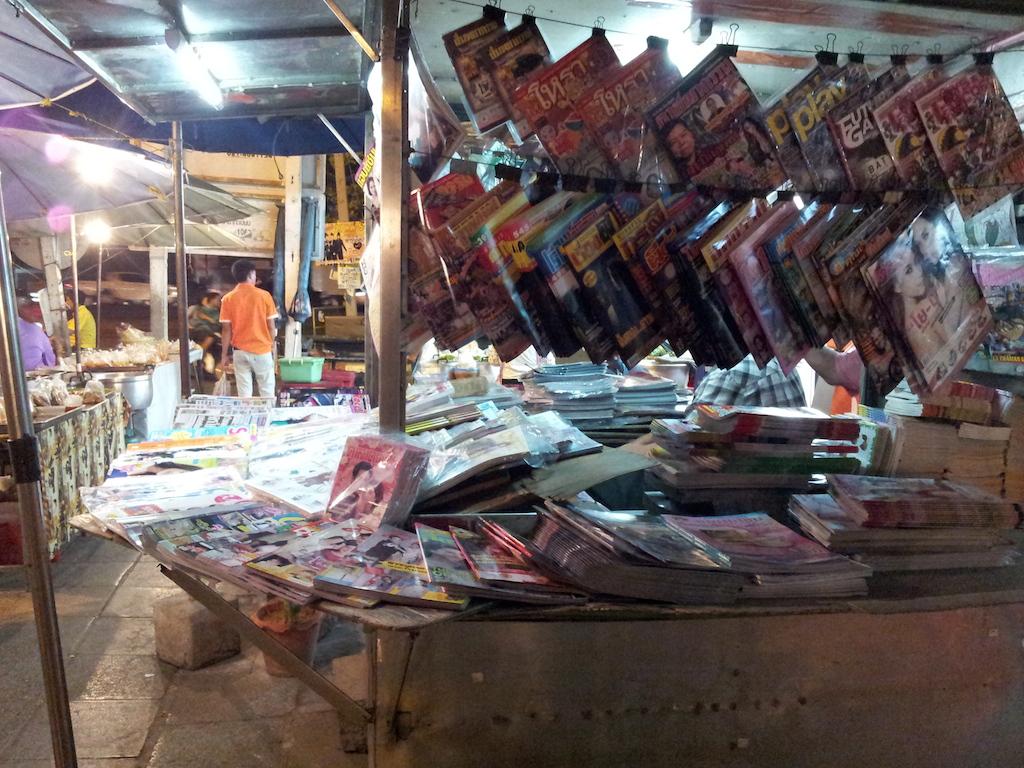 Ayutthaya Night Market Magazines