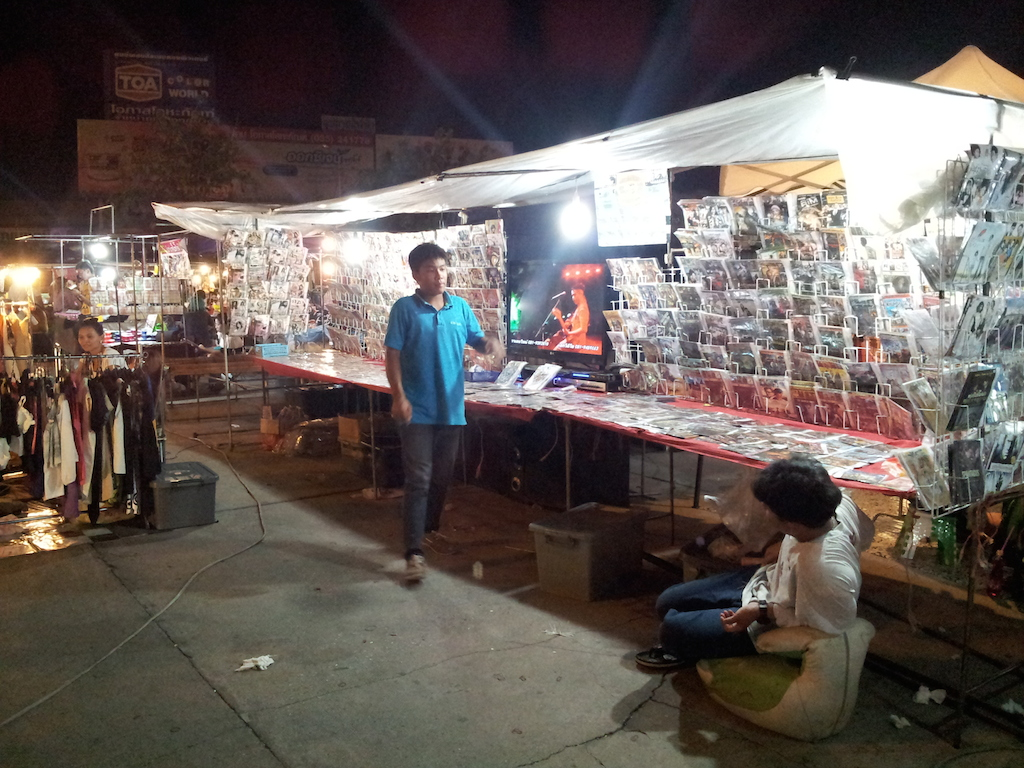 Ayutthaya Night Market Movies and DVDs