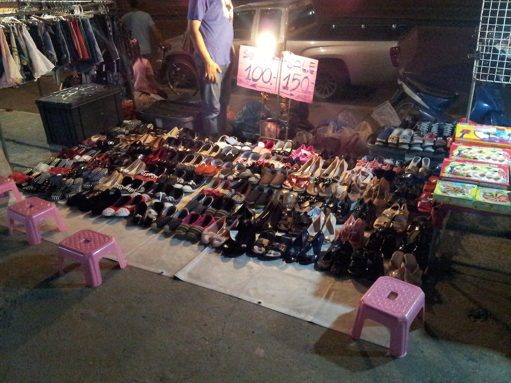 Ayutthaya Night Market Shoes