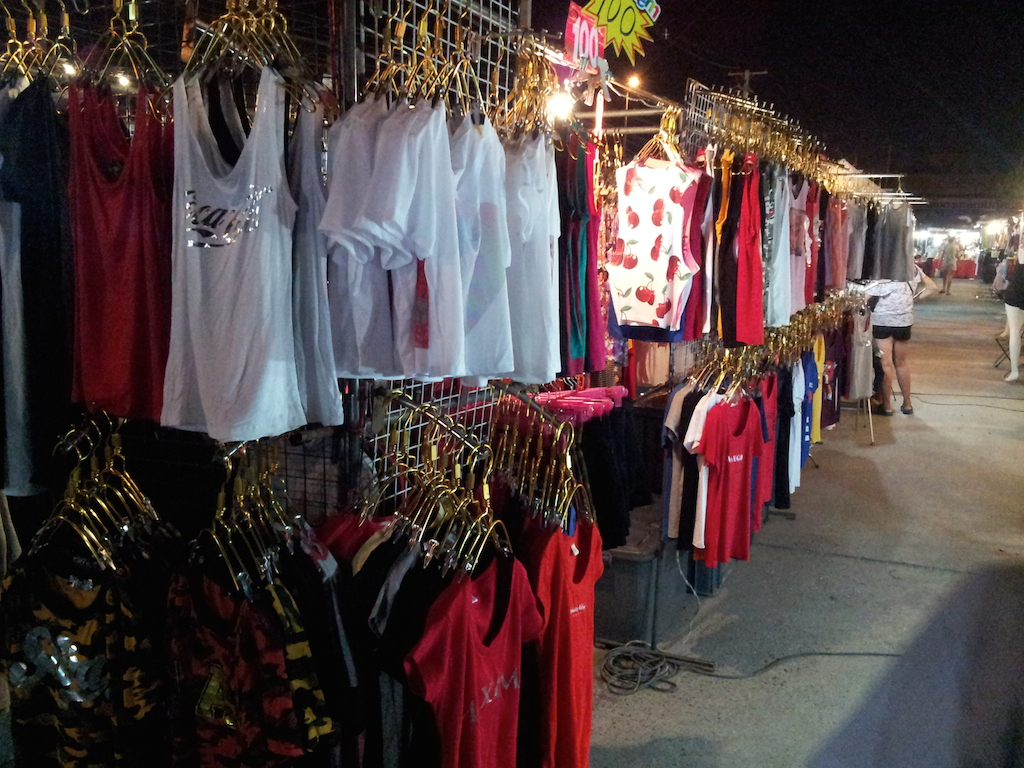 Ayutthaya Night Market Womens Clothing