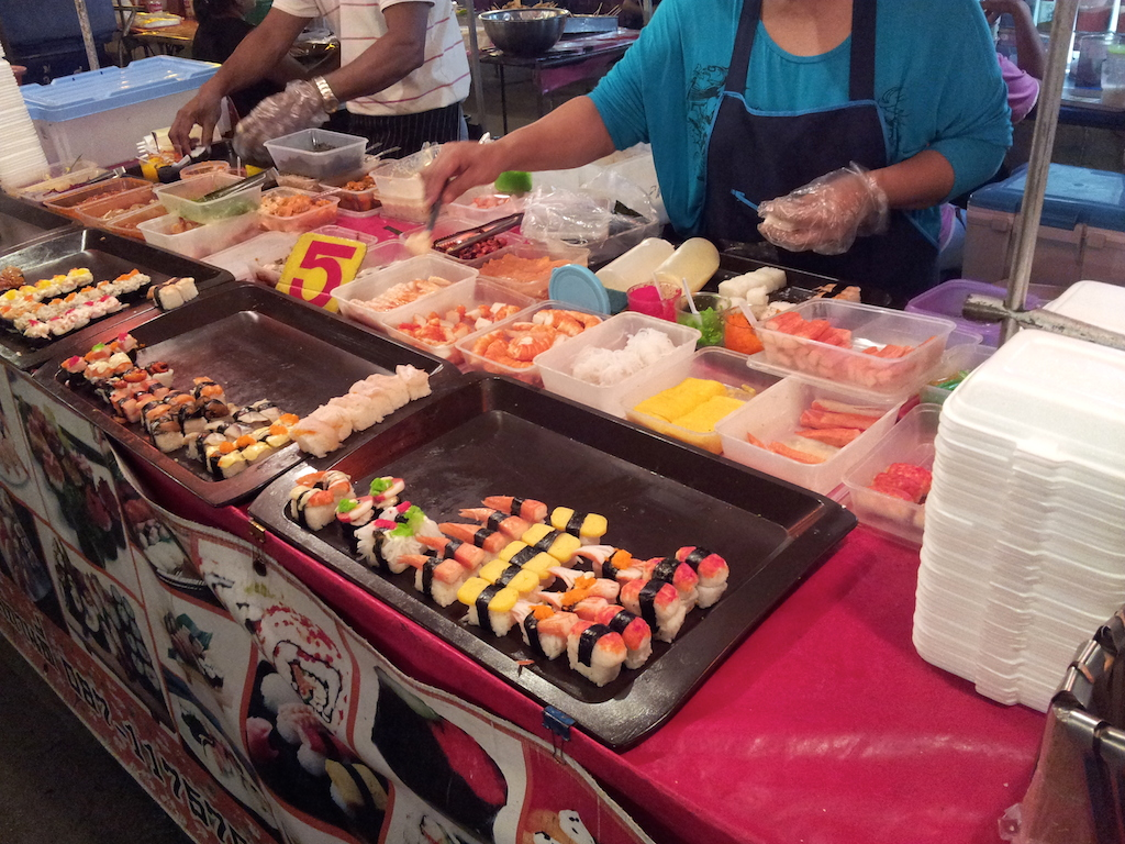Ayutthaya Night Market Sushi