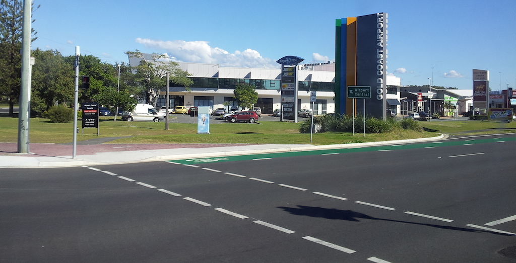 Gold Coast Airport Entrance