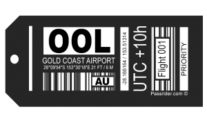 OOL Airport Bag Tag