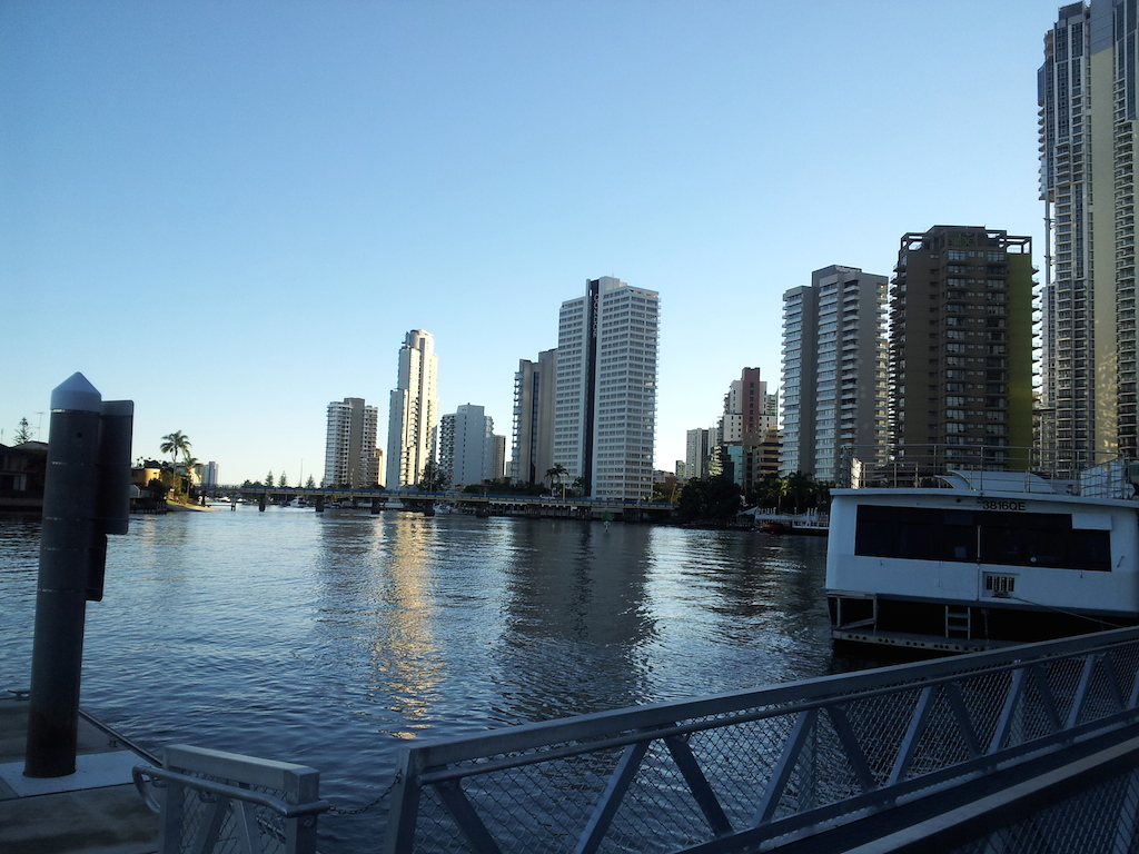 Surfers Paradise Inlet