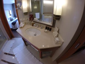 The sink at the Dusit Thani Hotel Bangkok