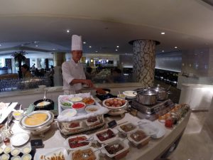 Breakfast Chef at the Pavilion Dusit Thani, Bangkok Thailand