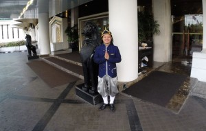 Doorman Dusit Thani Hotel Bangkok