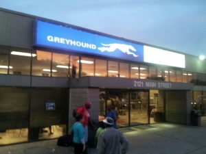 Houston Greyhound Bus Station