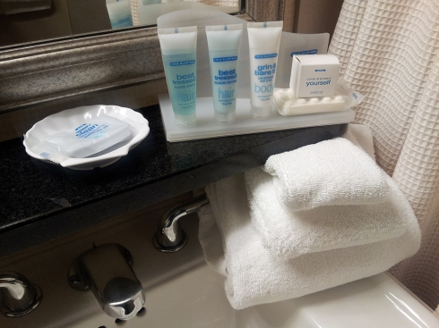Wyndham Garden Hotel Newark Airport Toiletries