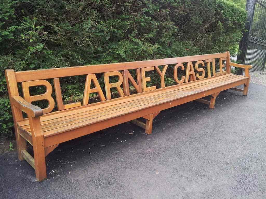 Blarney Castle Bench Blarney, Ireland