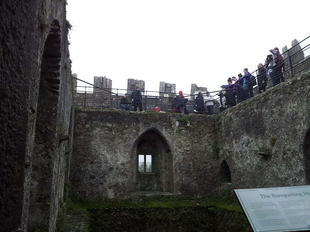 Blarney Stone from the Banquet Hall Blarney, Ireland