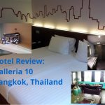 Hotel Review: Galleria 10 in Bangkok, Thailand
