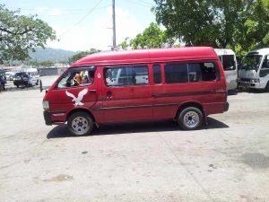 Jamaican Mini Van Montego Bay, Jamaica