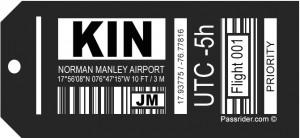 KIN Airport Tag