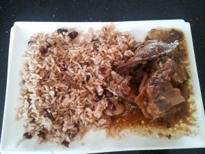 Rice and Peas and Oxtail
