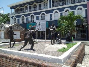 Sam Sharpe Square, Montego Bay, Jamaica