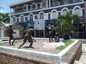 Sam Sharpe Square, Montego Bay, Jamaica