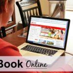 2. Book online