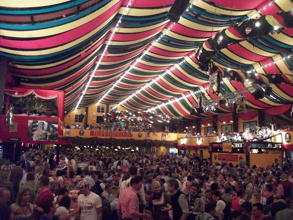 Hippodrom Tent Oktoberfest Munich, Germany