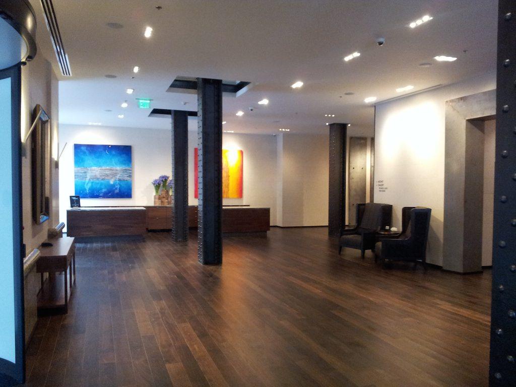 Lobby JW Marriott Downtown Houston