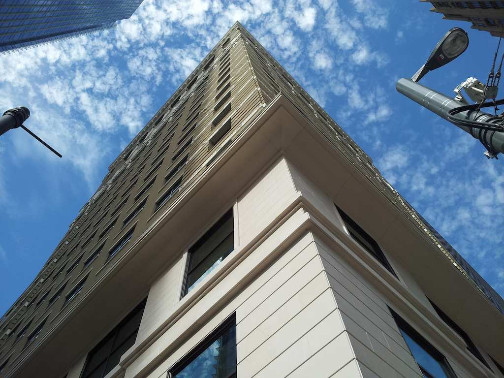 Looking Up at the JW Marriott Houston Downtown