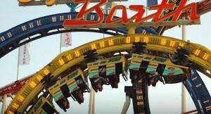 Roller Coaster Riders Oktoberfest Munich, Germany