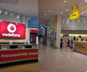 Vodafone Yes Optus Australia Local Sim