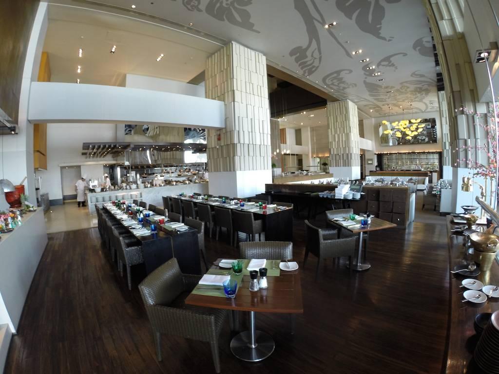 The Flow Restaurant at the Millennium Hilton Bangkok, Thailand