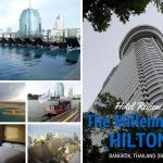 Hotel Review- The Millenium Hilton, Bangkok, Thailand