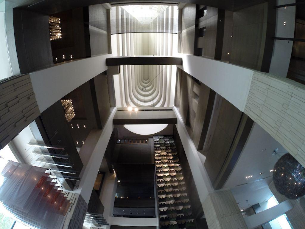 The Check-in Lobby at the Millennium Hilton Bangkok, Thailand