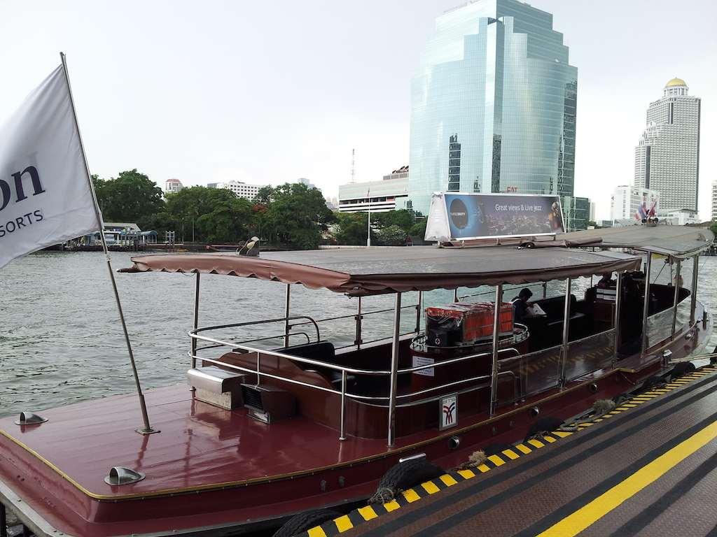 The Millennium Hilton WaterTaxi, Bangkok Thailand