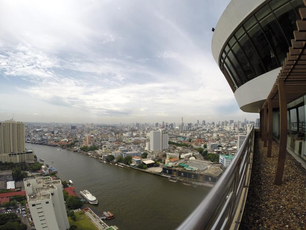 Rooftop view at The Lantern at the Millennium Hilton Bangkok Thailand