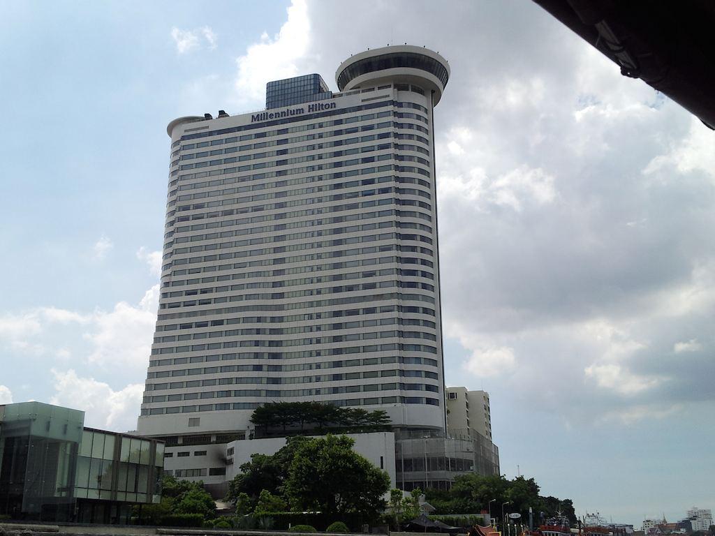 Seen From River Millennium Hilton Bangkok, Thailand