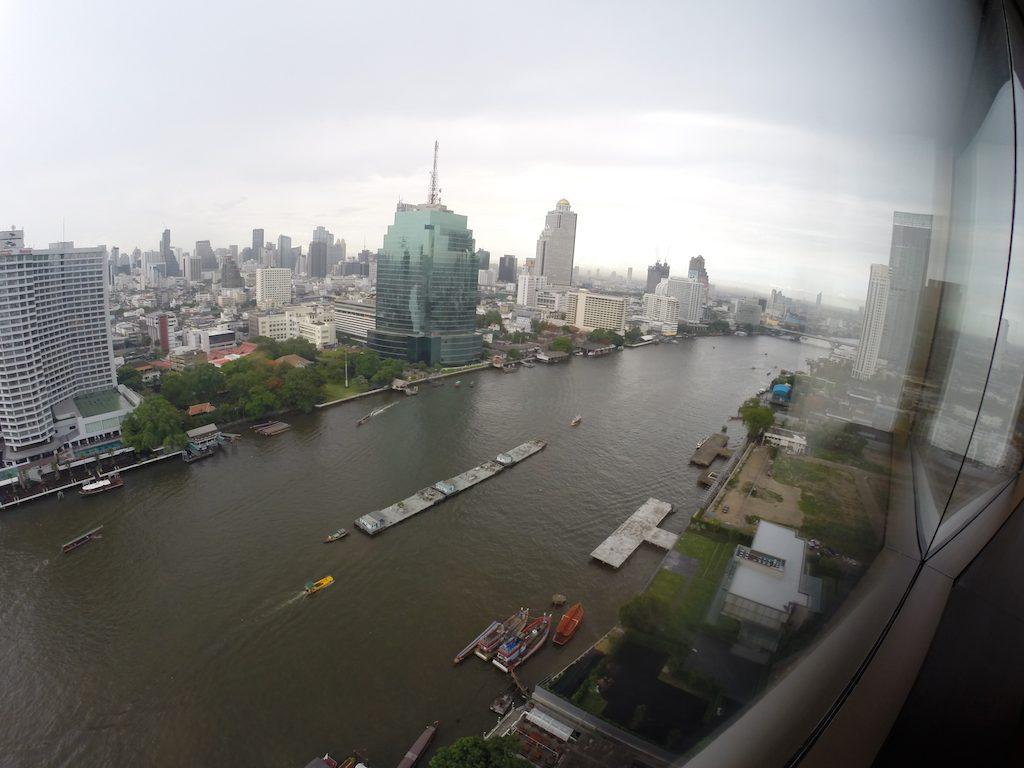 View From The Millennium Hilton Bangkok, Thailand