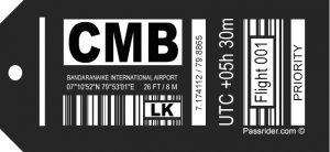 Bandaranaike International Airport Colombo, Sri Lanka (CMB)