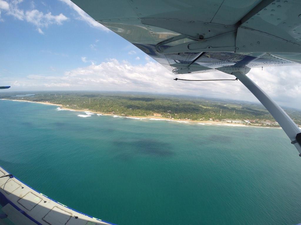 Flying Down The Sri Lankan Coastline on a Cinnamon Air Scenic Flight