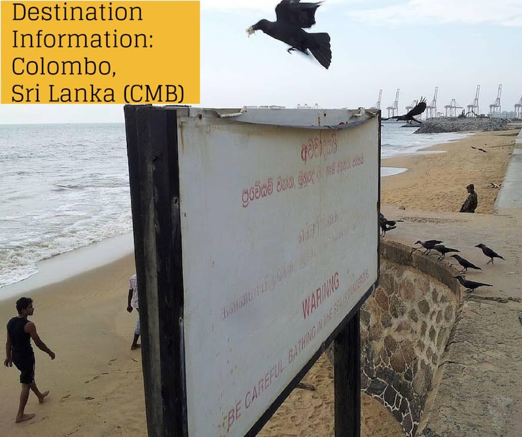 Destination Information: Colombo, Sri Lanka (CMB)