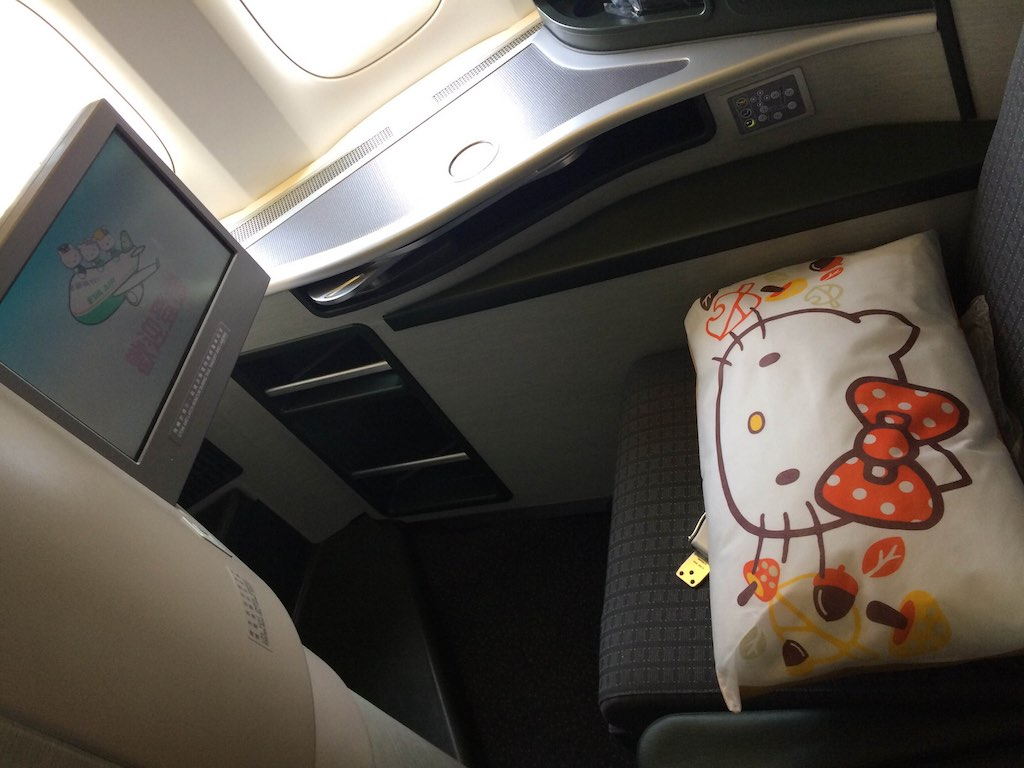 Hello Kitty Eva Air Laurel Class Screen