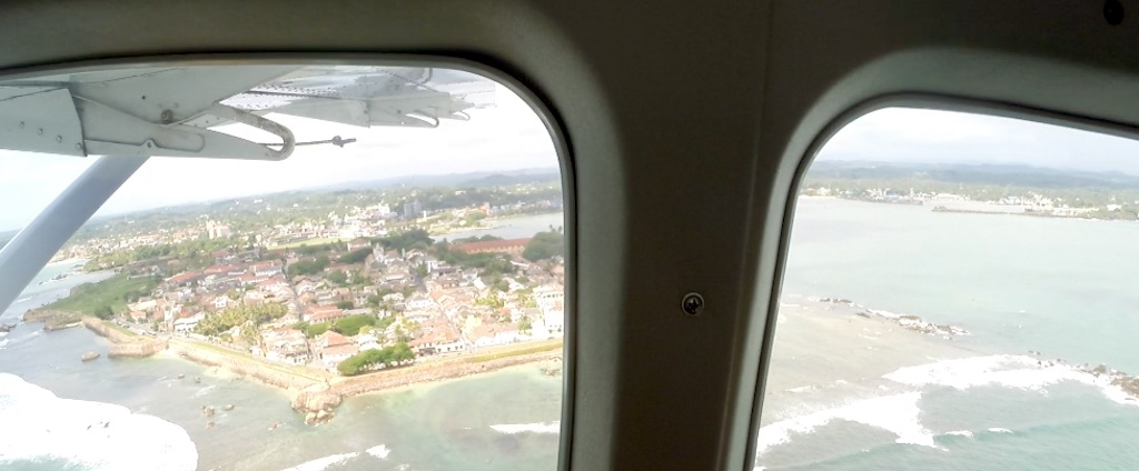 Sri Lanka - An Aerial View of Galle Fort