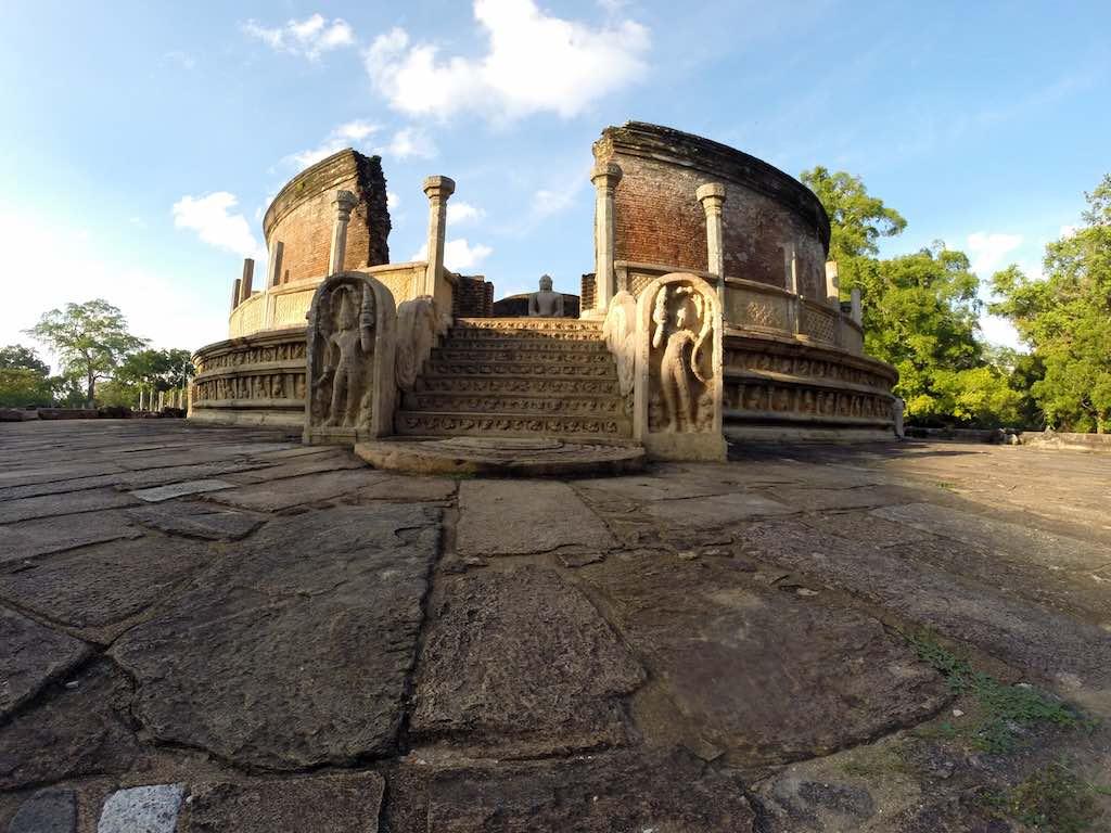 Sri Lanka - One of the many Temples at Polonnaruwa